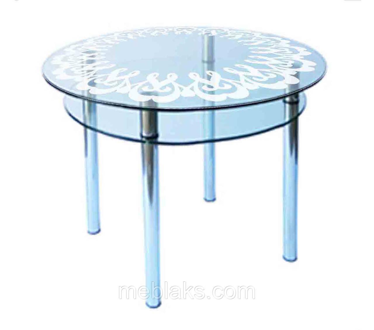 Стол стеклянный КС-3 (покраска)