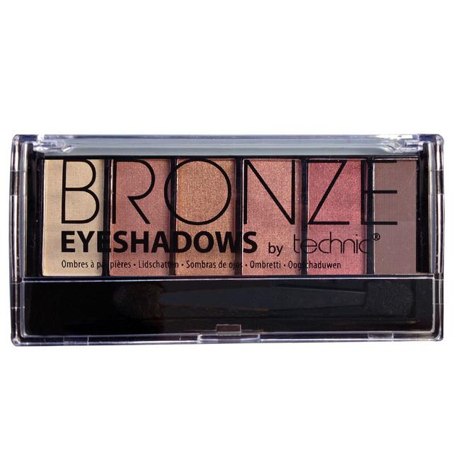 Палитра теней Technic Bronze eyeshadow