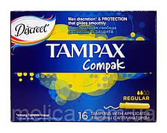 Тампоны Tampax Compak Regular (2 к.) - 16 шт.