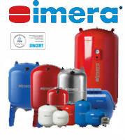 Гидроаккумуляторы и расширительные баки imera (aquasystem s.r.l. италия)