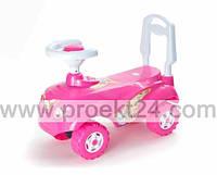 Машинка для катания МИКРОКАР розовый 47*30*23см