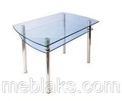 Стол стеклянный КС-4 (прозрачный)