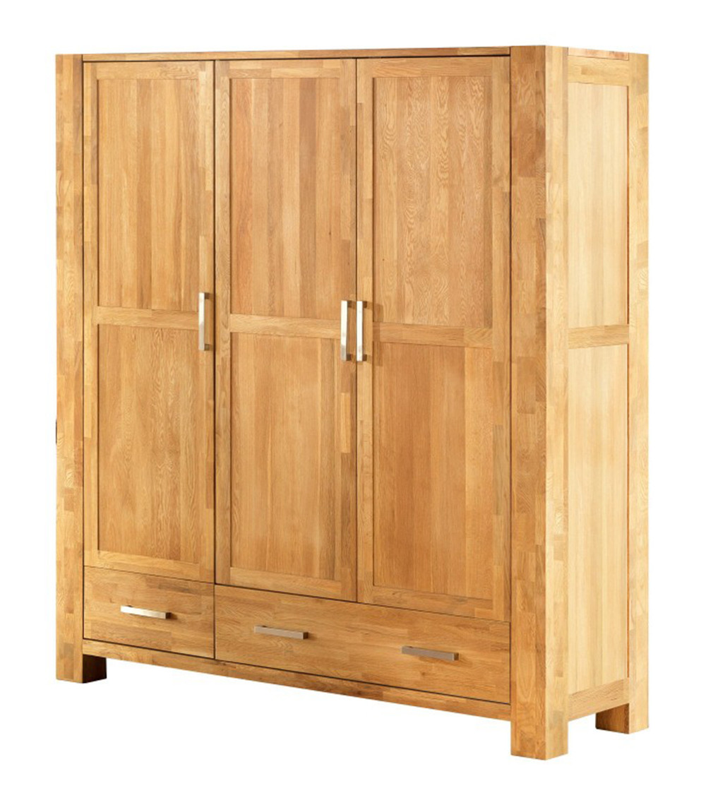 Шкаф из массива дерева 057