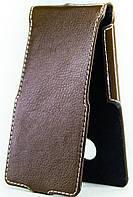 Чехол Status Flip для Gionee F103 Pro Brown