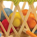 Деревянная игрушка - головоломка из бамбука Hape Pallina, фото 2
