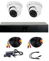 AHD комплект наблюдения на 2 уличные камеры CoVi Security HVK-2006 AHD PRO KIT, 1.3 Мп