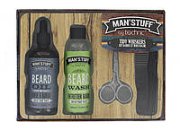 Мужской набор для ухода за бородой Technic Man's Stuff Tidy Whiskers Beard and Moustache Kit