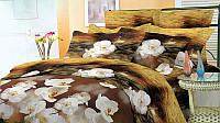 Полуторный набор постельный (рисунок Орхидея)