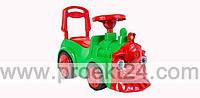 """Машинка для катания """"Паровозик"""" зеленый 67*34*26см"""