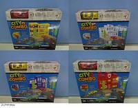 Игровой набор Паркинг p1201a-1/2/3/4 с машинкой коробке 21,5*6*19 см