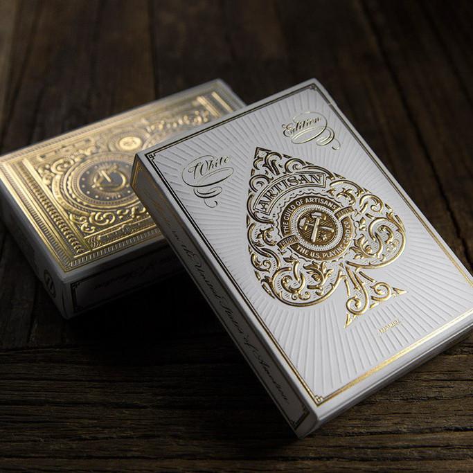 Карты игральные | Artisan Playing Cards (White)