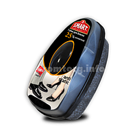 Губка-блеск для обуви с дозатором силикона Smart (черный)