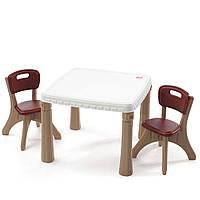 """Стол для детей со стульями Step2 """" Для мальчиков"""""""