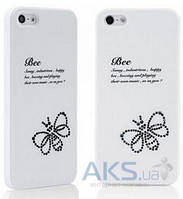 Чехол Star5 Insect Story Coccinella Apple iPhone 5, Apple iPhone 5S, Apple iPhone 5SE White (with Swarovski)