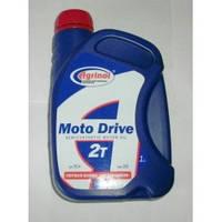 Масло для 2-х тактных двигателей полосинтетика 2Т motо Drive 1л Агринол