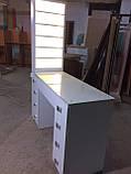 Професійний манікюрний стіл з підсвічуванням і УФ лампою в ящику V129, фото 4
