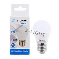 Лампа светодиодная ZL E27 4000K 480 Lm 7W
