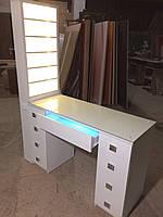 Стол маникюрный стационарный с УФ лампой V129