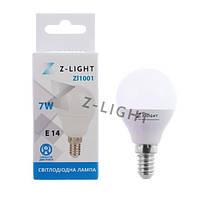 Лампа светодиодная ZL E14 4000K 480 Lm 7W