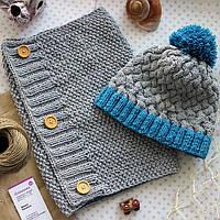 Зимние и демисезонные шапки, шарфы, палантины, платки