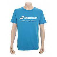 Мужская футболка Babolat T SHIRT PROMO BADMINTON (860162/100)