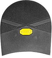 Набойка резиновая мужская BISSELL, art.RB612, цв. чёрный (желтый лого)