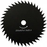 Нож для мотокос Werk 255*25.4*1.6 мм*40Т