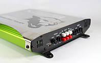 Авто усилитель мощности звука CAR AMP 600.4: 2000 Вт, RCA, 3,5 кг, глаза логотипа светятся
