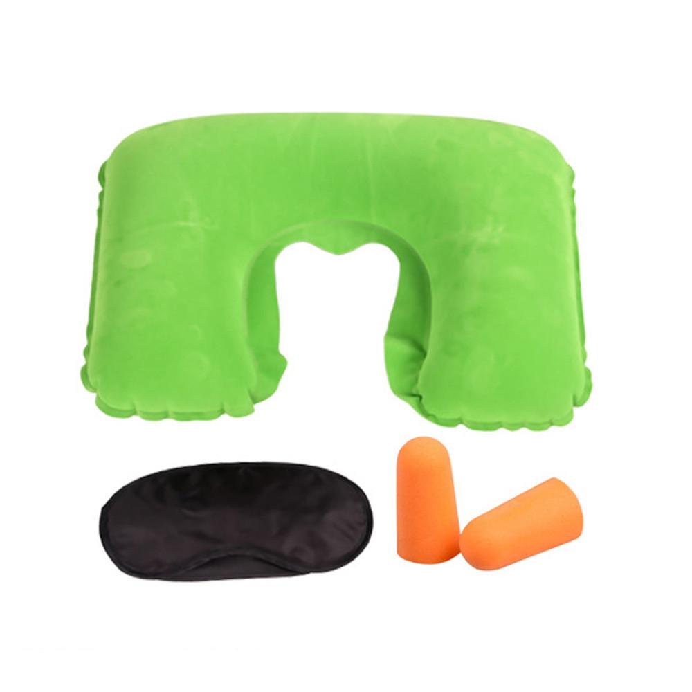 Подушка подголовник комплект VIOLET green (зеленый)