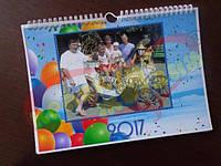 Перекидной настенный календарь 7л