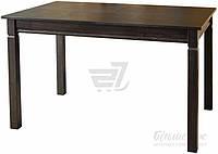 Обеденный деревянный стол раздвижной венге 160 см