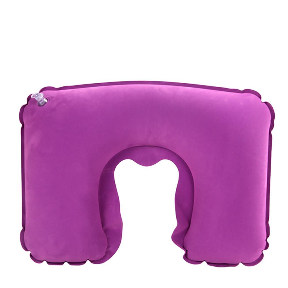 Подушка подголовник комплект VIOLET purple (фиолетовый)