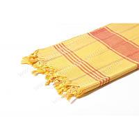 Подстилка для бани, сауны, хамама 172*78см. Желтый.