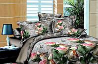 Полуторный набор постельный (рисунок Роза мечта)