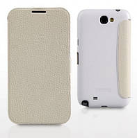 Yoobao Slim leather case for Samsung N7100 Galaxy Note 2, white (LCSAMN7100-SWT)