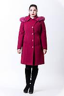 Пальто женское зимнее с капюшоном 10-43 Sergio Cotti