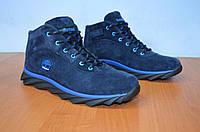 Зимние мужские ботинки Timberlend синии