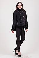 Пальто молодежное зима с натуральным мехом 1-003 Sergio Cotti