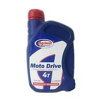 Масло для 4-хтактных двигателей полусинтетика 4Т motо Drive 1л Агринол (мотоциклы, лодки)