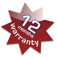Товари з гарантією 12 місяців