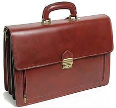 Деловой портфель из натуральной кожи Rovicky AWR-1-1 коричневый