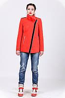 Пальто зимнее укороченное с натуральным мехом 1-077 Sergio Cotti