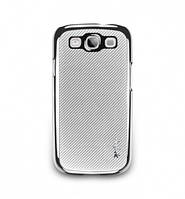 NavJack Corium series case for Samsung i9300 Galaxy S III, thistle silver (J016-10)