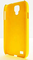 Plastic cover case for Samsung i9500 Galaxy S4, yellow