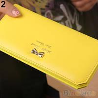 Кошелек-кредитница VERSAILLES yellow (желтый)