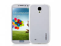 Momax iCase Pro cover for Samsung i9500 Galaxy S4, white (CPSAS4W1W)