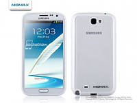 Momax iCase Pro cover for Samsung N7100 Galaxy Note II, white (ICPSANOTE2W1W)