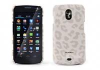 Nuoku LEO stylish leather cover for Samsung i9250 Galaxy Nexus, white