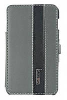 IMOBO Wallet leather case for Samsung i9220 Galaxy Note, grey/black (SFCNOTE-02GB)