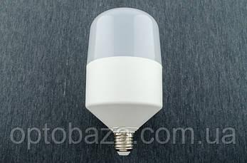 LED лампа 30Вт пластик E27 5000K, фото 2
